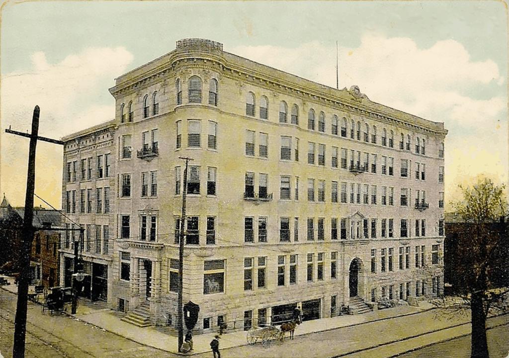 Memphis Press Scimitar Postcard 1902